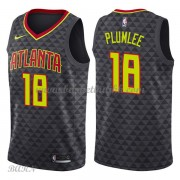 Barn Basketball Drakter Atlanta Hawks 2018 Miles Plumlee 18# Icon Edition Swingman..