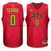 Atlanta Hawks NBA Basketball Drakter 2015-16 Jeff Teague 0# Alternate Drakt..