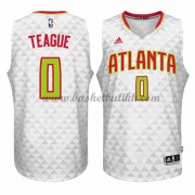 Atlanta Hawks NBA Basketball Drakter 2015-16 Jeff Teague 0# Hjemme Drakt