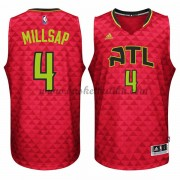 Atlanta Hawks NBA Basketball Drakter 2015-16 Paul Millsap 4# Alternate Drakt..