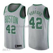 Barn Basketball Drakter Boston Celtics 2018 Al Horford 42# City Edition Swingman..