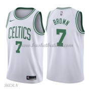 Barn Basketball Drakter Boston Celtics 2018 Jaylen Brown 7# Association Edition Swingman..