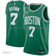 Barn Basketball Drakter Boston Celtics 2018 Jaylen Brown 7# Icon Edition Swingman..