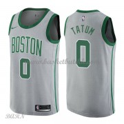Barn Basketball Drakter Boston Celtics 2018 Jayson Tatum 0# City Edition Swingman..