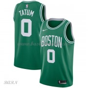 Barn Basketball Drakter Boston Celtics 2018 Jayson Tatum 0# Icon Edition Swingman..