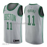 Barn Basketball Drakter Boston Celtics 2018 Kyrie Irving 11# City Edition Swingman..