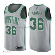 Barn Basketball Drakter Boston Celtics 2018 Marcus Smart 36# City Edition Swingman..