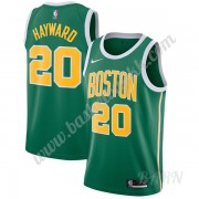 Barn Basketball Drakter Boston Celtics 2019-20 Gordon Hayward 20# Grønn Earned Edition Swingman Drak..