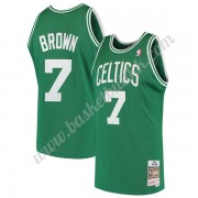 Boston Celtics NBA Basketball Drakter 1985-86 Dee Brown 7# Grønn Hardwood Classics Swingman Drakt..