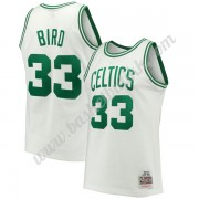 Boston Celtics NBA Basketball Drakter 1985-86 Larry Bird 33# Hvit Hardwood Classics Swingman Drakt..