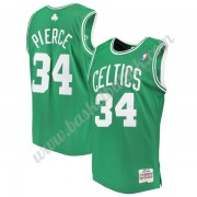 Boston Celtics NBA Basketball Drakter 2007-08 Paul Pierce 34# Grønn Hardwood Classics Swingman Drakt..