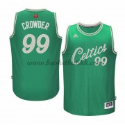 Boston Celtics Basketball Drakter 2015 Jae Crowder 99# NBA Julen Drakt..