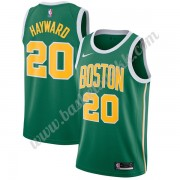 Boston Celtics NBA Basketball Drakter 2019-20 Gordon Hayward 20# Grønn Earned Edition Swingman Drakt..