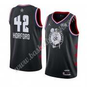 Boston Celtics 2019 Al Horford 42# Svart All Star Game NBA Basketball Drakter Swingman..