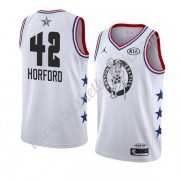 Boston Celtics 2019 Al Horford 42# Hvit All Star Game NBA Basketball Drakter Swingman..