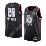 Boston Celtics 2019 Gordon Hayward 20# Svart All Star Game NBA Basketball Drakter Swingman..