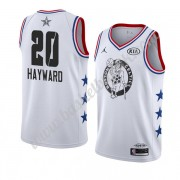 Boston Celtics 2019 Gordon Hayward 20# Hvit All Star Game NBA Basketball Drakter Swingman..