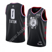 Boston Celtics 2019 Jayson Tatum 0# Svart All Star Game Finished NBA Basketball Drakter Swingman..