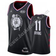 Boston Celtics 2019 Kyrie Irving 11# Svart All Star Game NBA Basketball Drakter Swingman..
