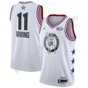 Boston Celtics 2019 Kyrie Irving 11# Hvit All-Star Game Finished NBA Basketball Drakter Swingman..