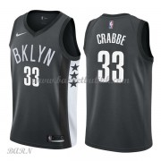 Barn Basketball Drakter Brooklyn Nets 2018 Allen Crabbe 33# Statement Edition Swingman..