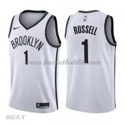 Barn Basketball Drakter Brooklyn Nets 2018 D'Angelo Russell 1# Association Edition Swingman..