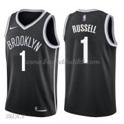 Barn Basketball Drakter Brooklyn Nets 2018 D'Angelo Russell 1# Icon Edition Swingman..