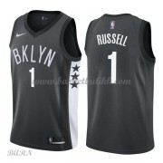 Barn Basketball Drakter Brooklyn Nets 2018 D'Angelo Russell 1# Statement Edition Swingman..