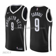 Barn Basketball Drakter Brooklyn Nets 2018 DeMarre Carroll 9# City Edition Swingman..