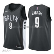 Barn Basketball Drakter Brooklyn Nets 2018 DeMarre Carroll 9# Statement Edition Swingman..