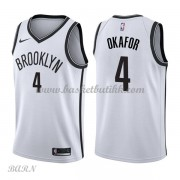 Barn Basketball Drakter Brooklyn Nets 2018 Jahlil Okafor 4# Association Edition Swingman..