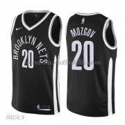 Barn Basketball Drakter Brooklyn Nets 2018 Timofey Mozgov 20# City Edition Swingman..