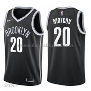 Barn Basketball Drakter Brooklyn Nets 2018 Timofey Mozgov 20# Icon Edition Swingman..