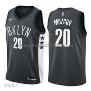 Barn Basketball Drakter Brooklyn Nets 2018 Timofey Mozgov 20# Statement Edition Swingman..