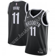 Barn Basketball Drakter Brooklyn Nets 2019-20 Kyrie Irving 11# Svart Icon Edition Swingman Drakt