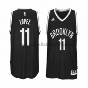Brooklyn Nets NBA Basketball Drakter 2015-16 Brook Lopez 11# Road Drakt..