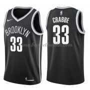 Brooklyn Nets NBA Basketball Drakter 2018 Allen Crabbe 33# Icon Edition..