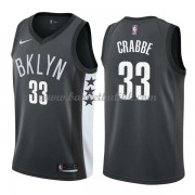 Brooklyn Nets NBA Basketball Drakter 2018 Allen Crabbe 33# Statement Edition..
