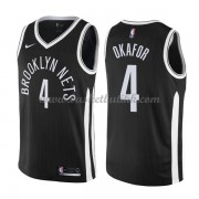 Brooklyn Nets NBA Basketball Drakter 2018 Jahlil Okafor 4# City Edition..