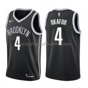 Brooklyn Nets NBA Basketball Drakter 2018 Jahlil Okafor 4# Icon Edition..