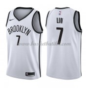 Brooklyn Nets NBA Basketball Drakter 2018 Jeremy Lin 7# Association Edition..