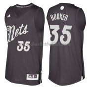 Brooklyn Nets Basketball Drakter 2016 Trevor Booker 35# NBA Julen Drakt..