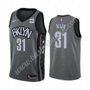 Brooklyn Nets NBA Basketball Drakter 2019-20 Jarrett Allen 31# Grå Statement Edition Swingman Drakt..