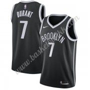 Brooklyn Nets NBA Basketball Drakter 2019-20 Kevin Durant 7# Svart Icon Edition Swingman Drakt..
