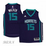 Barn Basketball Drakter Charlotte Hornets 2015-16 Kemba Walker 15# Road