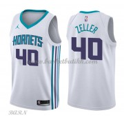 Barn Basketball Drakter Charlotte Hornets 2018 Cody Zeller 40# Association Edition Swingman..