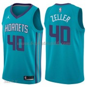 Barn Basketball Drakter Charlotte Hornets 2018 Cody Zeller 40# Icon Edition Swingman..