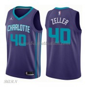 Barn Basketball Drakter Charlotte Hornets 2018 Cody Zeller 40# Statement Edition Swingman..