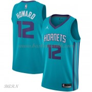 Barn Basketball Drakter Charlotte Hornets 2018 Dwight Howard 12# Icon Edition Swingman..