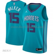 Barn Basketball Drakter Charlotte Hornets 2018 Kemba Walker 15# Icon Edition Swingman..